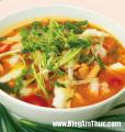 Foto Canh dau phu (Tofu soep) (Vegetarisch)